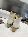 ISABEL MARANT Leather Heel Ankle Boots Women Pointed boots