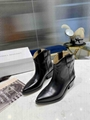 ISABEL MARANT Leather Heel Ankle Boots