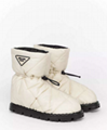 PRADA BLOW QUILTED SNOW BOOT