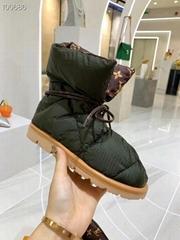 Louis Vuitton Pillow Comfort Ankle Boots Shoes LV snow boots