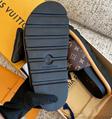 LOUIS VUITTON POOL PILLOW COMFORT MULES LV Women  wide front straps slipper