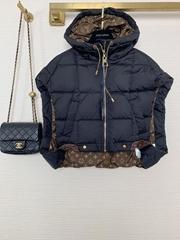Louis Vuitton Sleeveless Pillow Puffer vest JacketLV Women's Down Vests