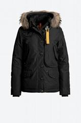 Parajumpers Doris Padded Parka Jacket Black Women snow fur jackets
