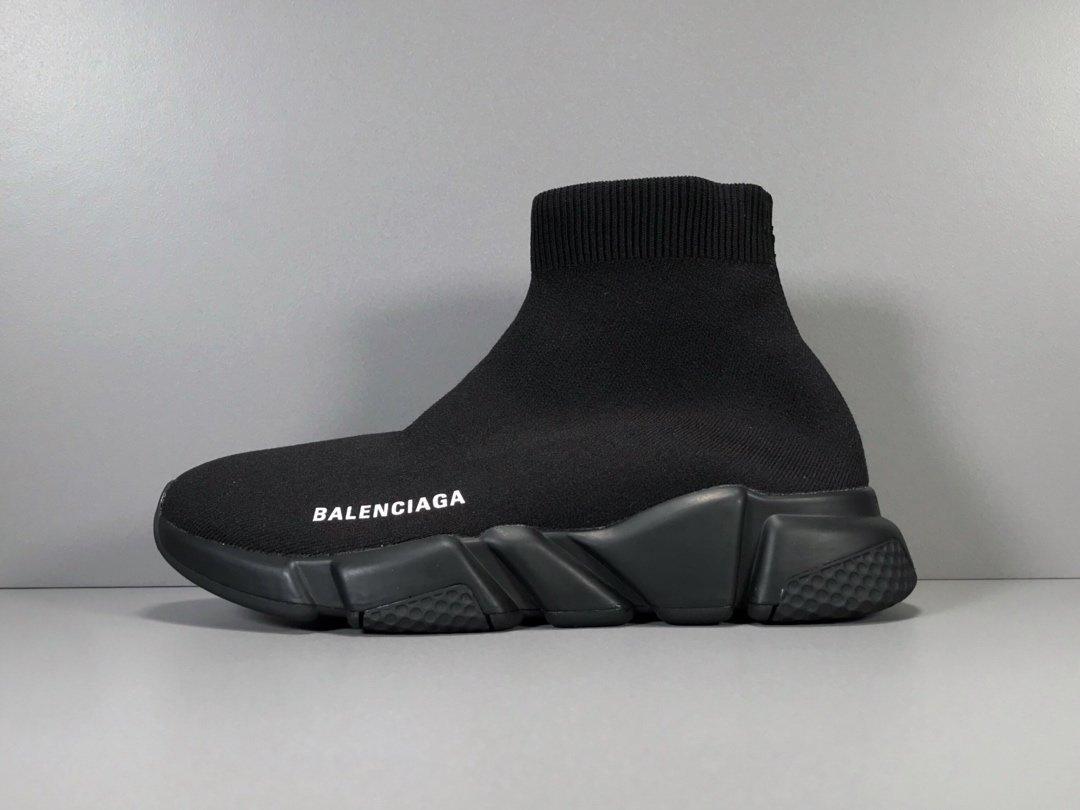BALENCIAGA Speed slip on knitted mid top trainers Fashion balenciaga Knit boots