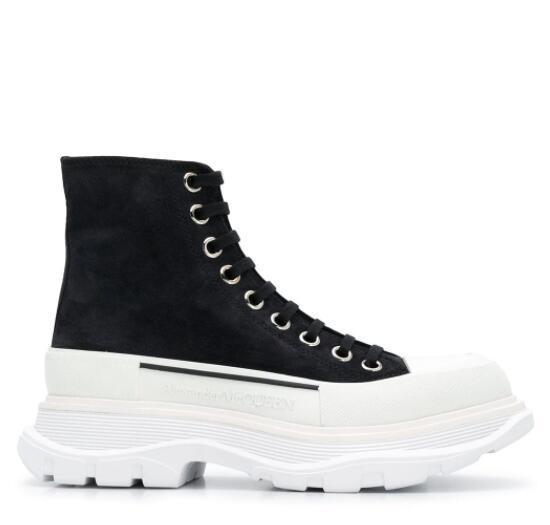 Alexander McQueen Tread Slick boots Women ankle length boots