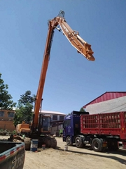 Three segment Long Reach Extended Boom long arm 18M 20M for CAT320 CAT336 excava