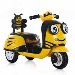 Electric tricycle for children