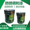 黑色醇酸調和漆 適用性強快干型