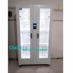 Medical single door stainless steel soft endoscope storage cabinet