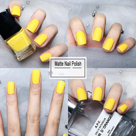 Matte Top Coat Color UV Gel Nail Polish 40 Color Semi Permanent Soak Off UV Gel  2