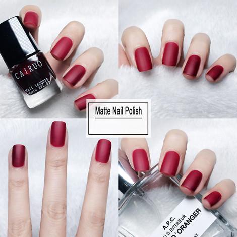 Matte Top Coat Color UV Gel Nail Polish 40 Color Semi Permanent Soak Off UV Gel  5