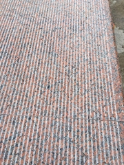 G562廣西楓葉紅花崗岩高鐵站台板站台帽石拉絲防滑
