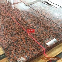 G562楓葉紅花崗岩 天然石材線條