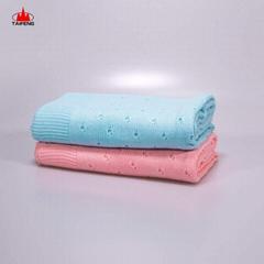 Merino Wool Yarn Warm Chunky Soft Australian Brushed Baby Blanket 2020
