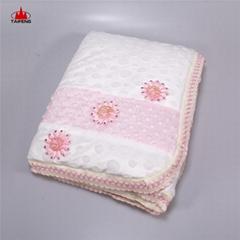 Online Sale baby blankets 2018 soft baby flannel cute shawl blanket baby flannel