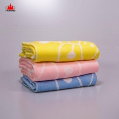 soft crinkly texture muslin 100% cotton newborn baby swaddle blanket