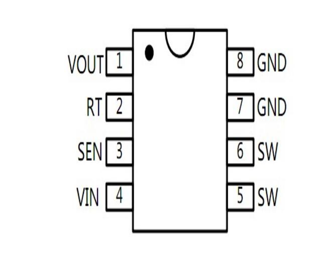 DC-DC大电流降压车充芯片硅动力SP1233FL 1