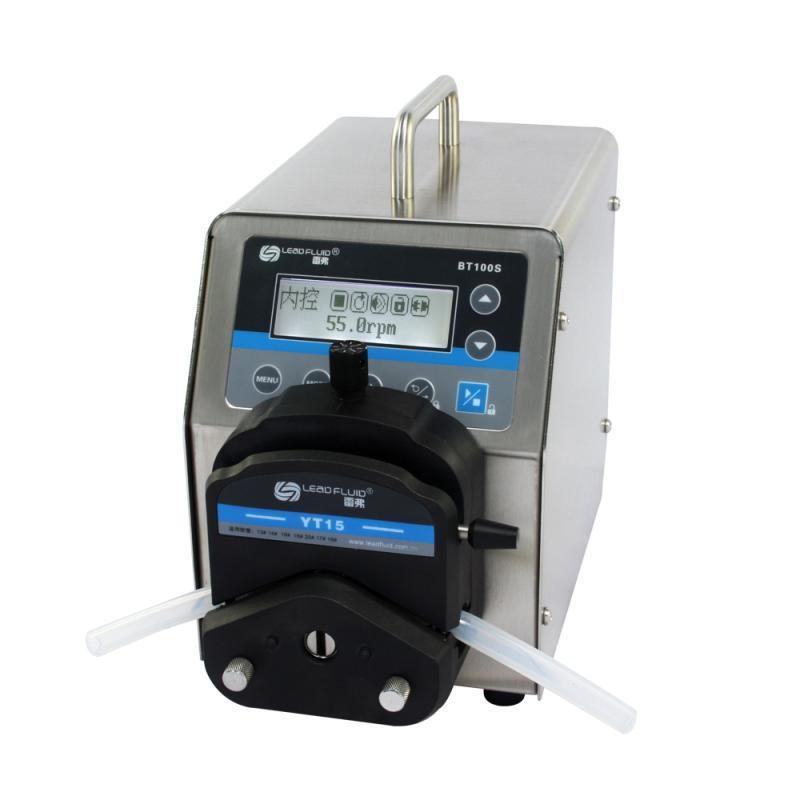 LEADFLUID BT100S Top Variable-Speed Peristaltic Pump 1