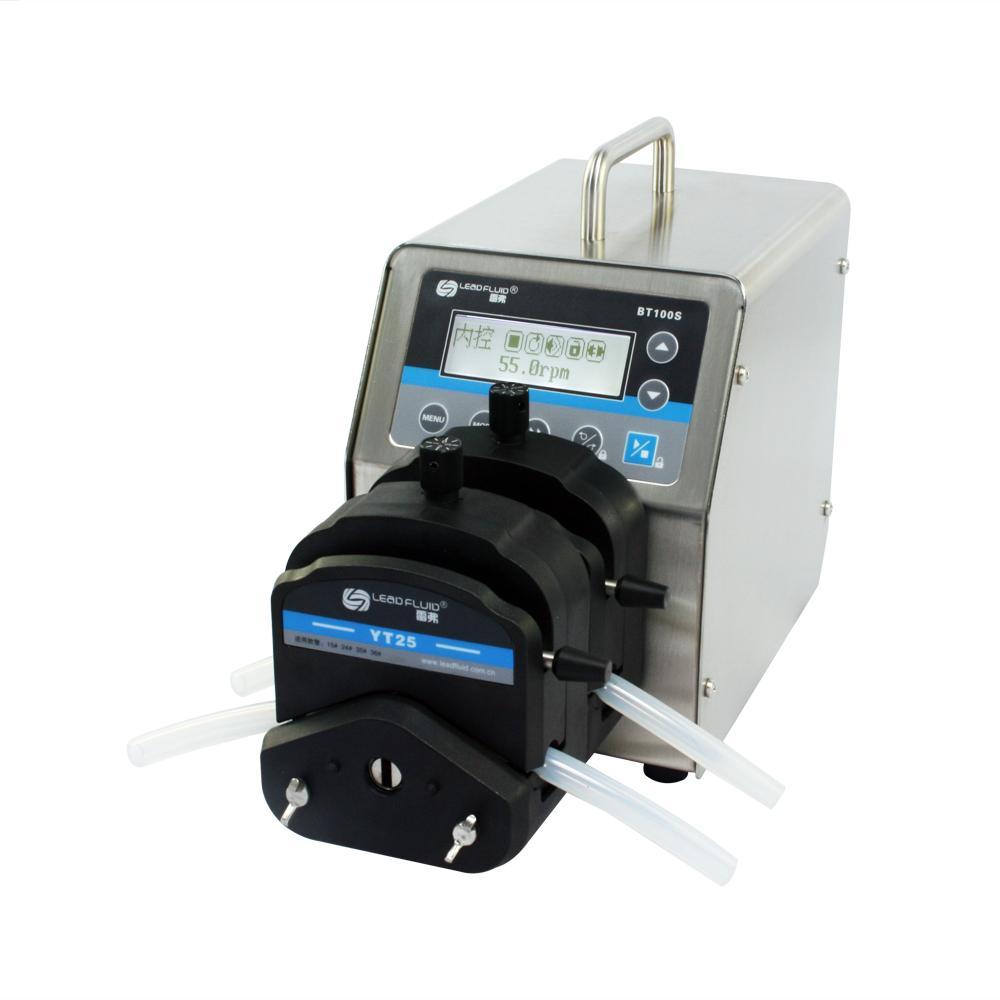 LEADFLUID BT100S Top Variable-Speed Peristaltic Pump 2