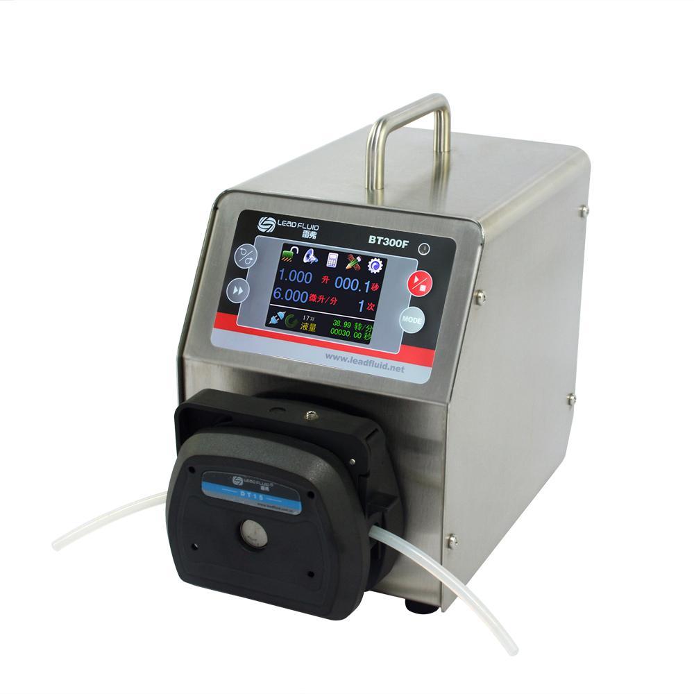 LEADFLUID BT300F 0.006-1690 mL/min color LCD touch screen Intelligent Dispensing 1