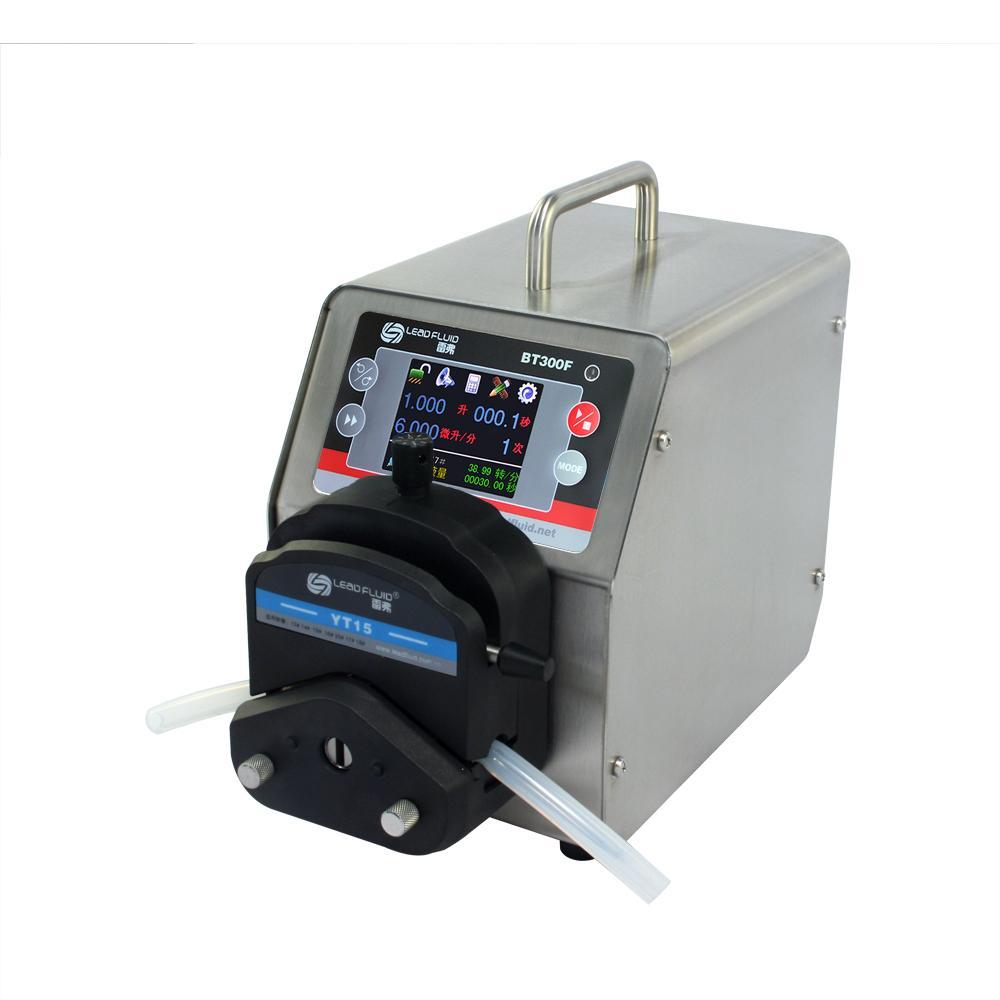LEADFLUID BT300F 0.006-1690 mL/min color LCD touch screen Intelligent Dispensing 3