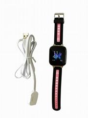 跨境4G全網通多國語言gps312智能手錶儿童電話手錶防水GPS定位器