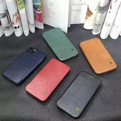 Customized Design Business Series PU Leather Flip Cover Case for iPhone 12 Hot S