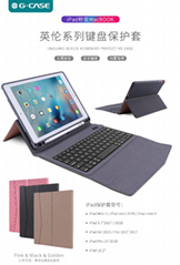 Wholesale England Series Bluetooth Keyboard Protective Case Mac Book for iPad/iP