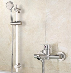 304 stainless steel shower bathroom faucet