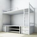 員工宿舍上鋪下雙層鐵架床廠家供應 1