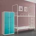 員工宿舍上鋪下雙層鐵架床廠家供應 5