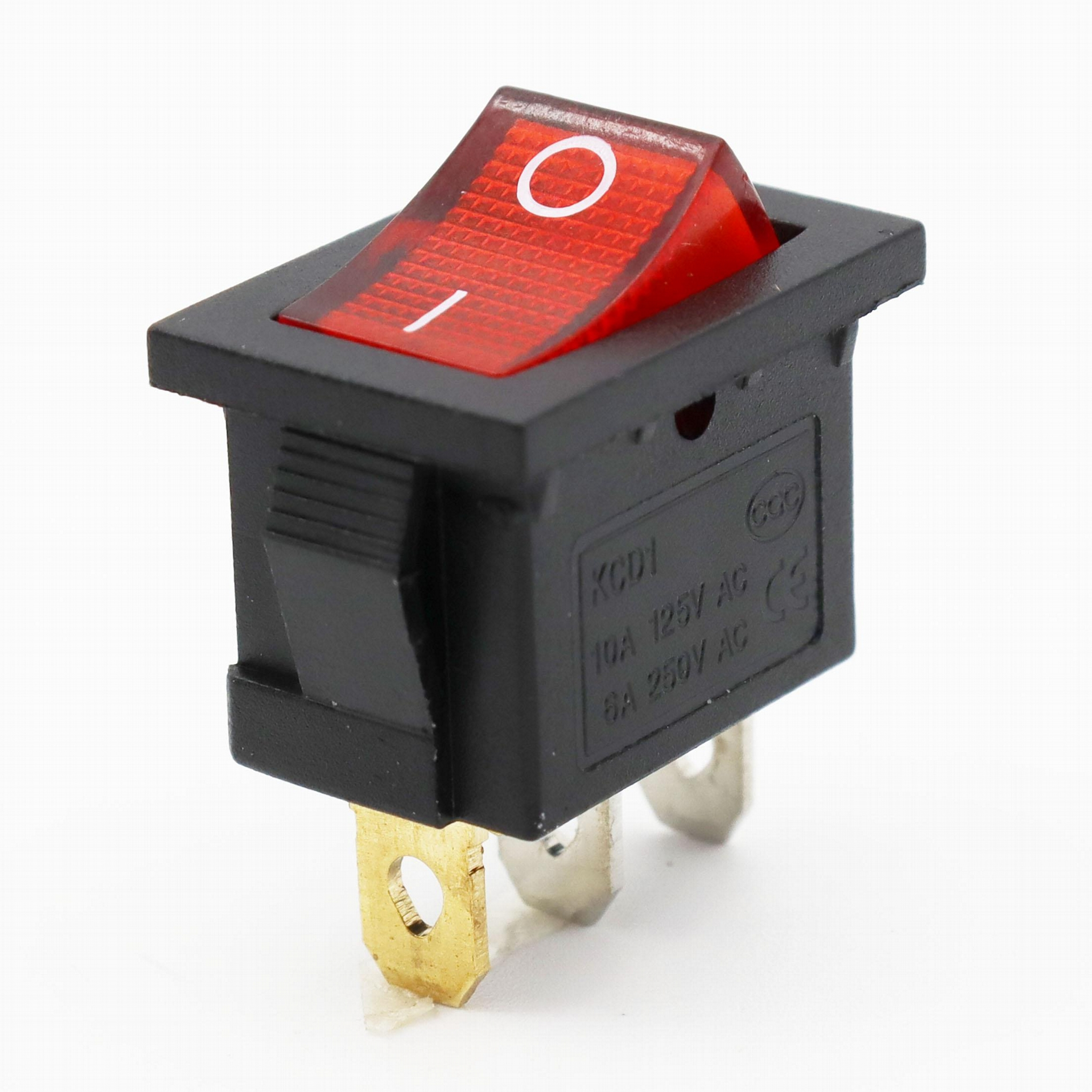 KCD1-101-1 21*15mm 2pins rocker switches 2
