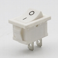 KCD1-101-1 21*15mm 2pins rocker switches 4