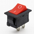 KCD1-101-1 21*15mm 2pins rocker switches 5