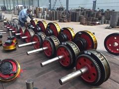 起重机500锻打调质车轮组