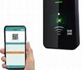 Barcode QR code EM or mifare card access control reader TTL 20000 user free SDK