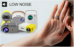 1500lumens LCD Mini Portable Movie Projector LED Home Theater
