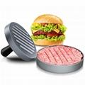 Hamburger Press Aluminum Alloy Hamburger Meat Beef Grill Burger Press Patty Make 3