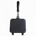 Double Sided Grill Pressure Sandwich Waffle Maker Frying Pan  5