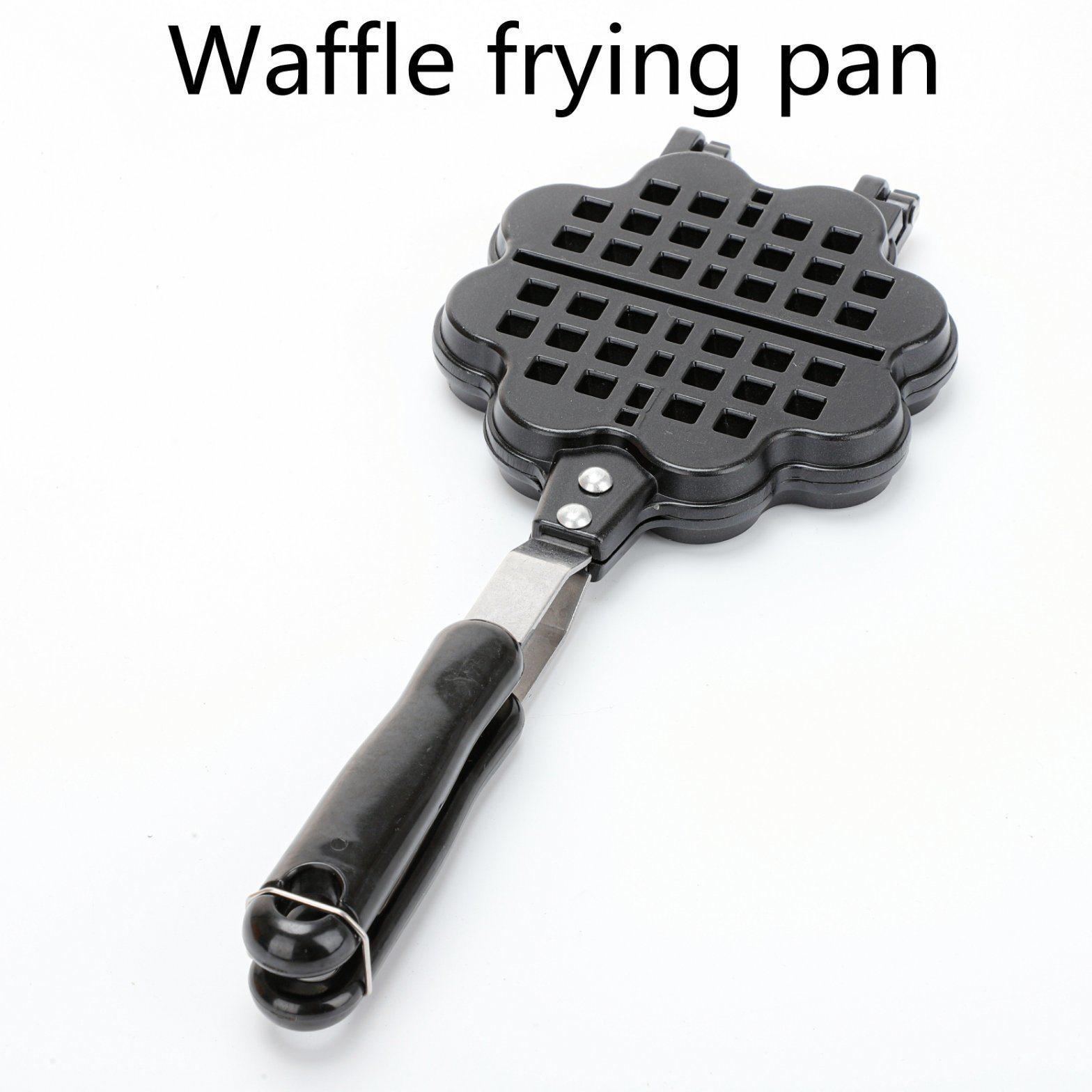 Double Side Loveheart  Waffle Machine Maker Frying Pan 1