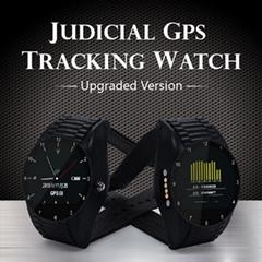 4G司法防拆監管定位手環