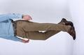 100% cotton elastic waist men stretch