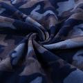 New design soft knitted polar fleece fabric camo 100%polyester for jacket men  3