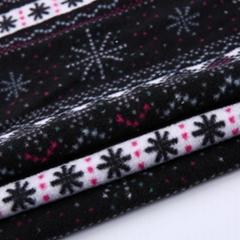便宜价格 100% 涤纶围巾印花雪兰毛摇粒绒面料