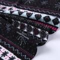 Cheap price 100% polyester scarf printed micro blizzard fleece fabric  2