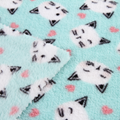 High quality 100% polyester material custom print fleece fabric knit for blanket 1