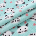 High quality 100% polyester material custom print fleece fabric knit for blanket 3