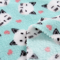High quality 100% polyester material custom print fleece fabric knit for blanket 5