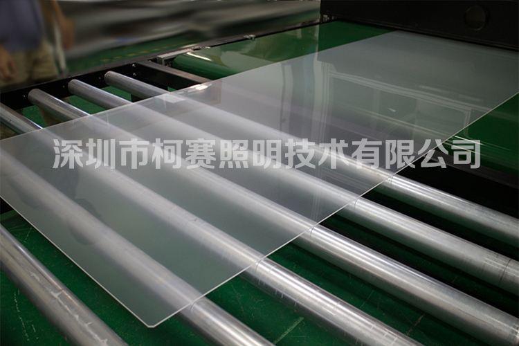 四邊入光大尺寸定製三菱導光板 1