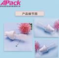 現貨凍干水粉混合一體瓶化妝品PCTG材質精華瓶功能性產品必用包材 3